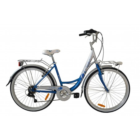 """Bici Cristal 26"""" 6v Shimano"""